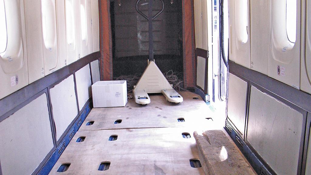 Interior of DORNIER 228