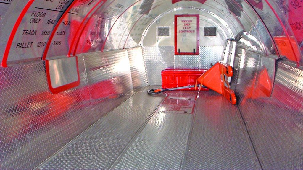 Interior of DASSAULT FALCON 20 CARGO