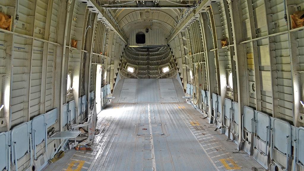 Interior of MIL MI-26