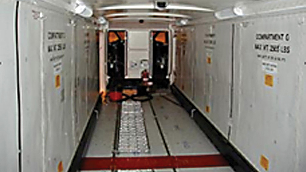 Interior of SHORTS SD 360