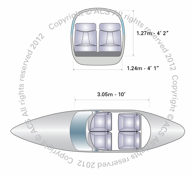 Layout Digram of CIRRUS SR-22