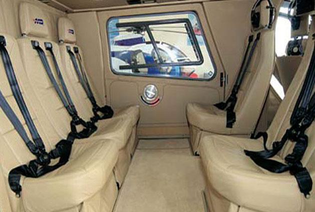 Interior of MD 900