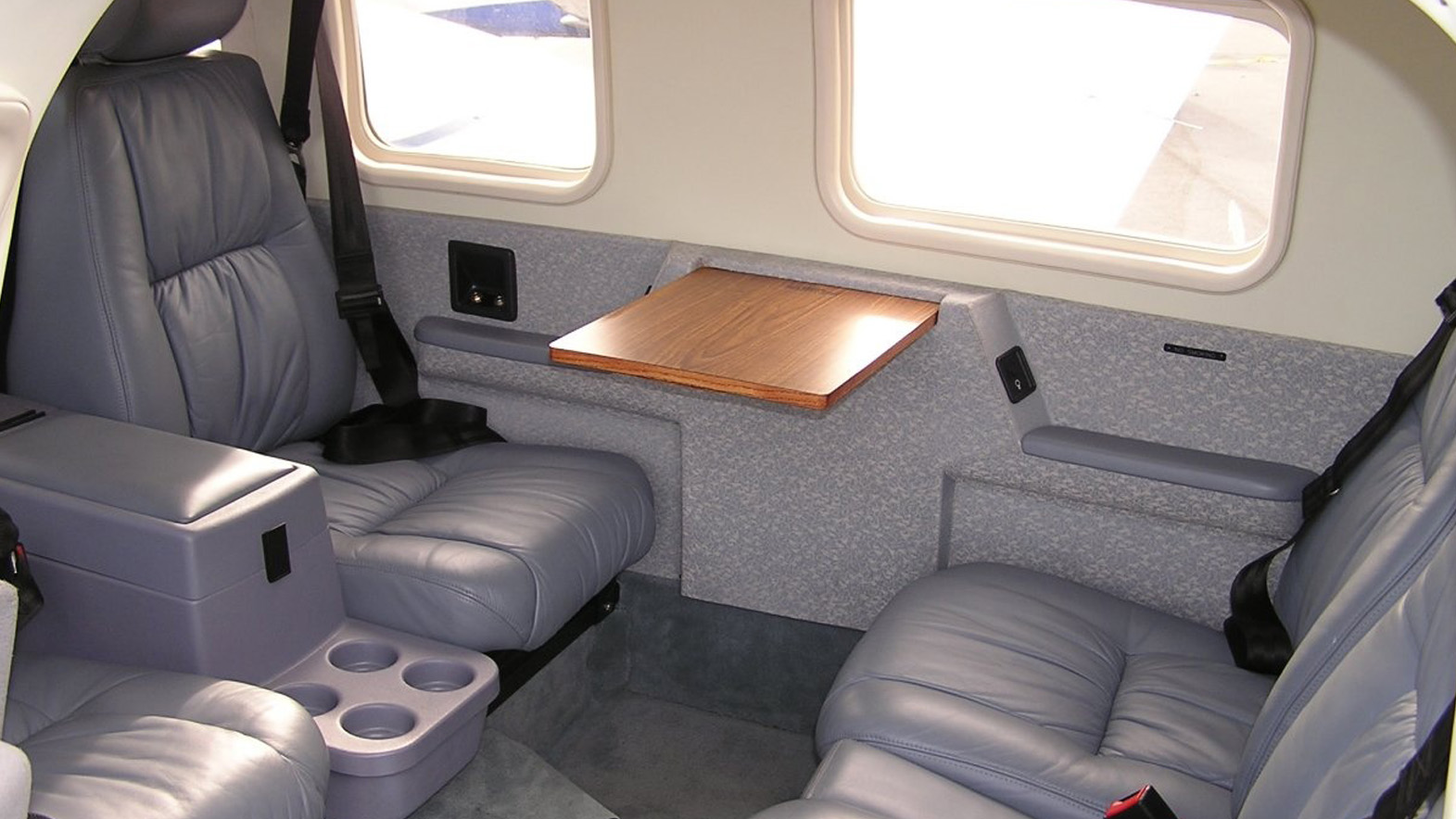Interior of PIPER PA-34 SENECA