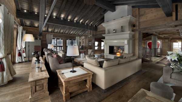 Chalet Edelweiss Lounge, Courchevel