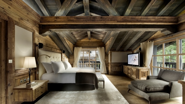 Chalet Edelweiss First Master Bedroom, Courchevel