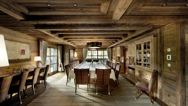 Chalet Edelweiss Dining, Courchevel