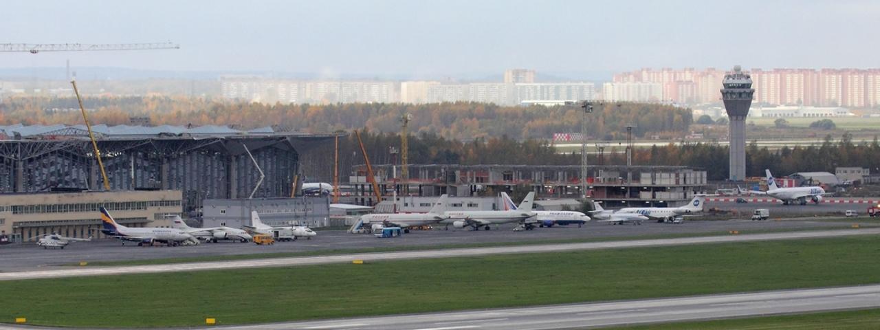 Fretamento de jatos particulares e vôos para o Aeroporto de Pulkovo