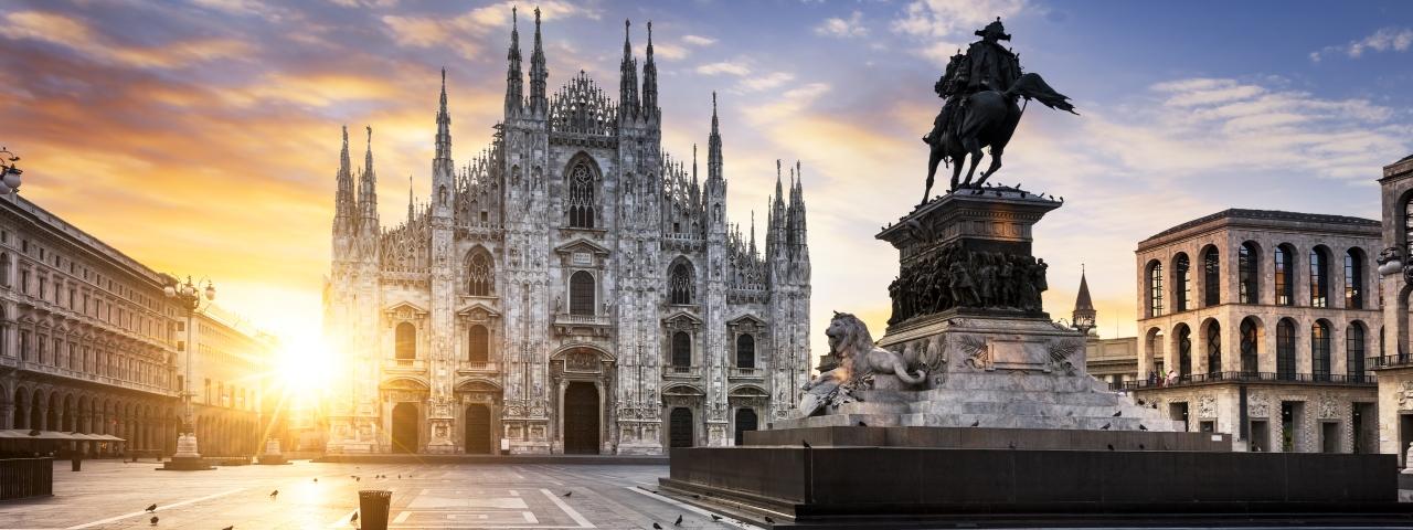 Fretamento de jatos particulares e voos para Milão