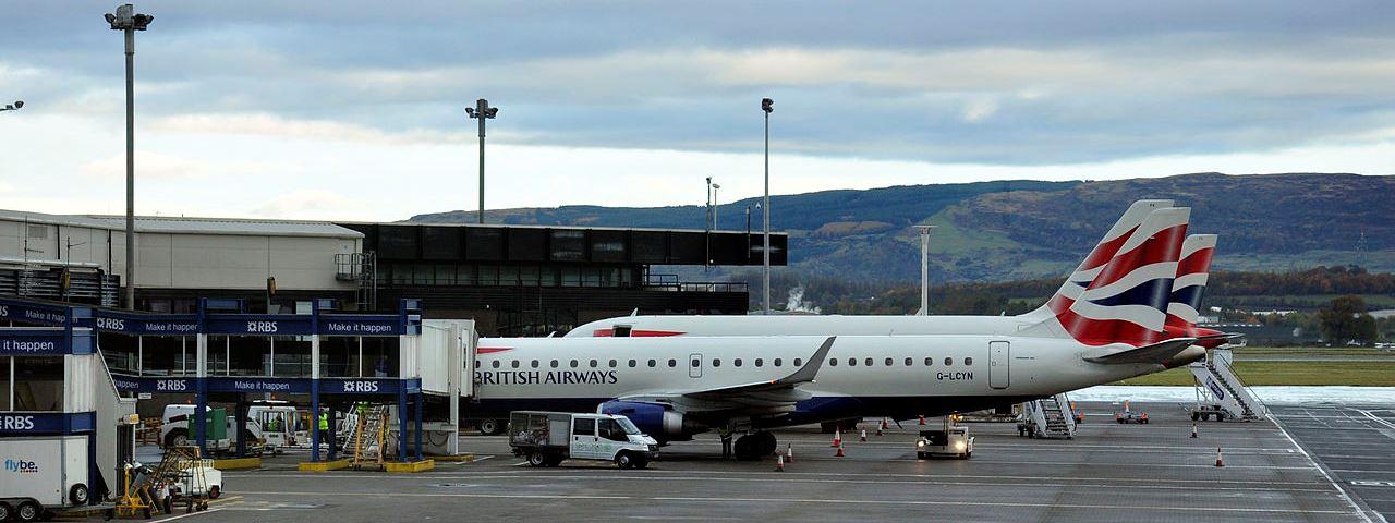 Affrétez un jet privé pour L'aéroport international de Glasgow