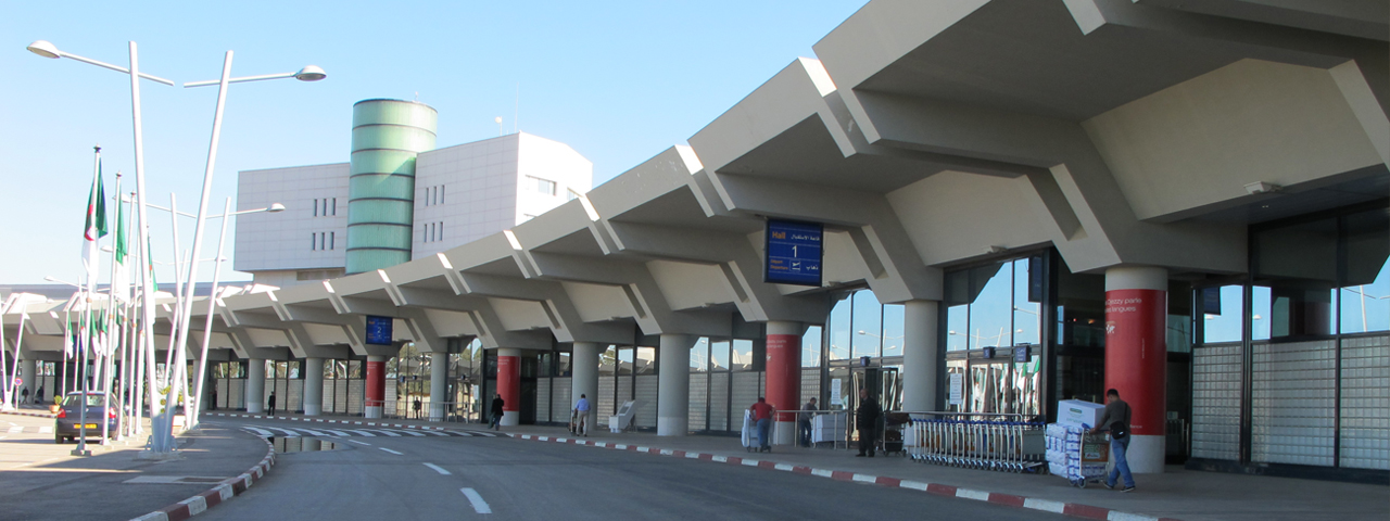 Location de jet privé à l'aéroport international Alger - Houari Boumédiene