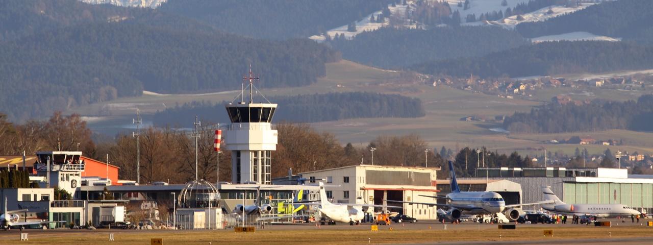Location de jet privé de l'aéroport de Berne, Suisse