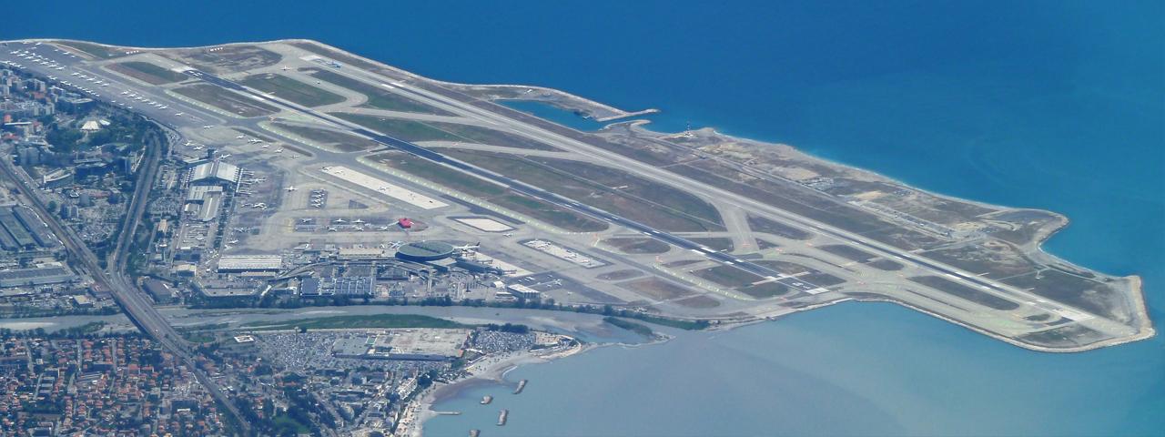 Location de jet privé à l'aéroport Nice-Côte d'Azur