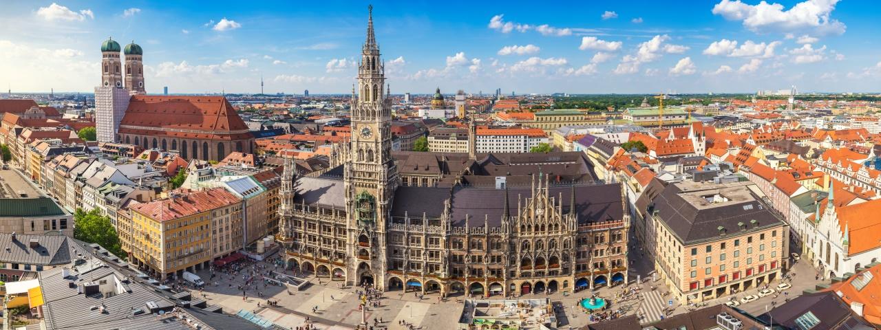Affrètement à destination à Munich