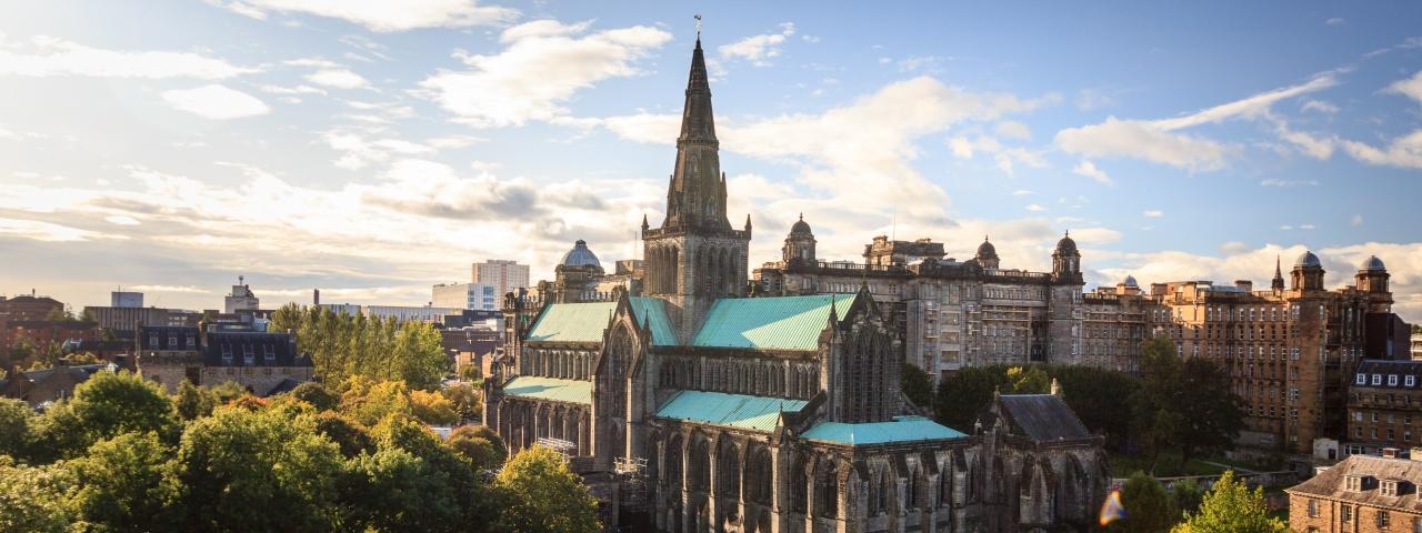 Affrètement à destination à Glasgow