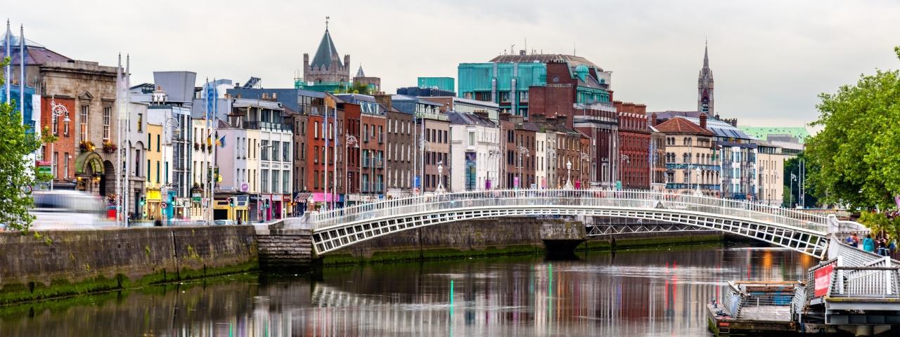 Affrètement à destination à Dublin