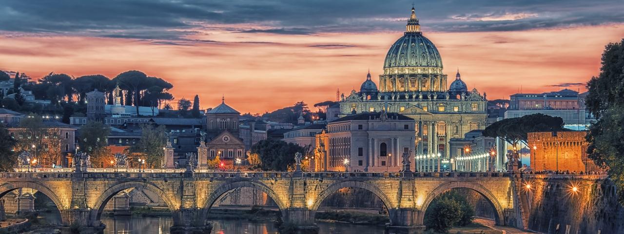 Affrètement à destination à Rome