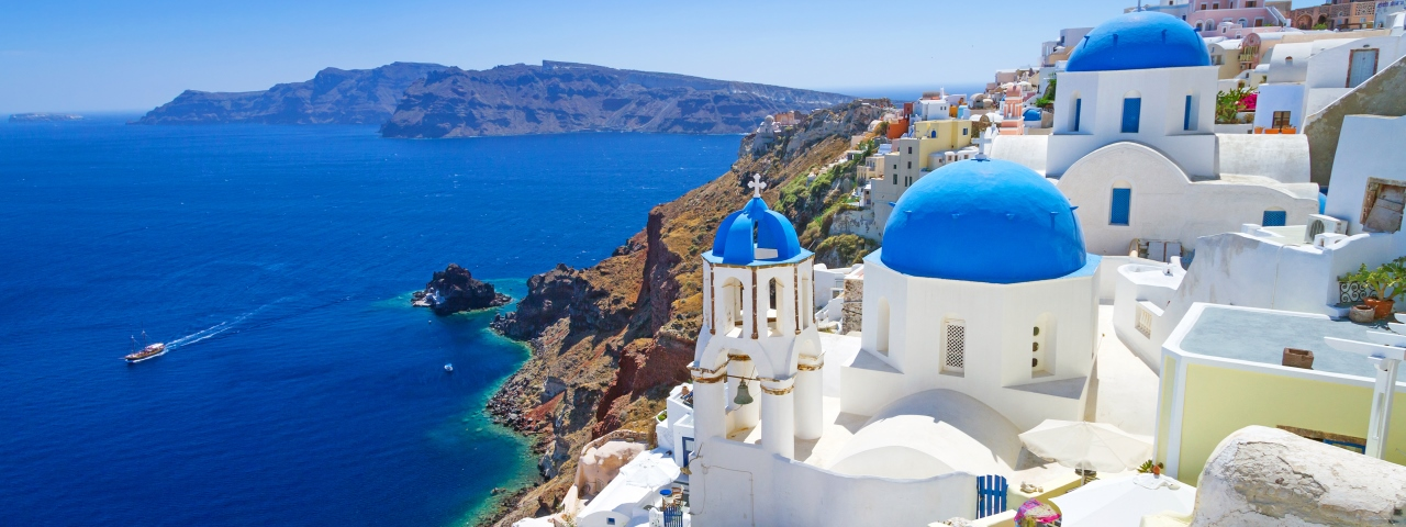 Private Jet Charter to Santorini