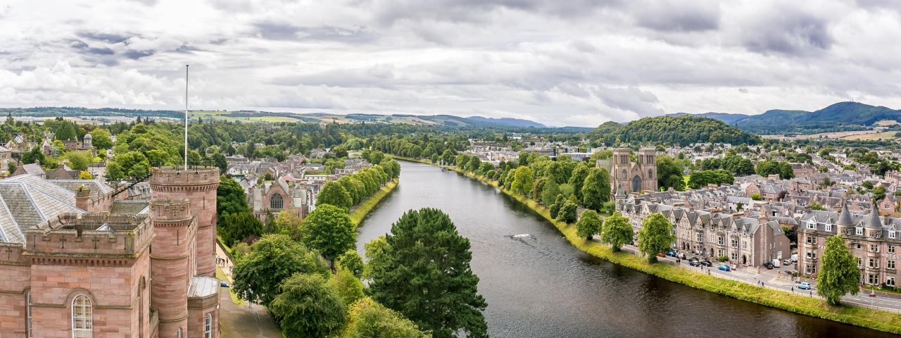 Affrètement à destination d'Inverness