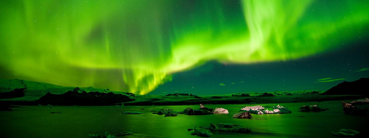 Louer un jet privé vers l'Islande
