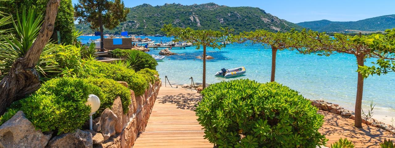 Affrètement de jet privé vers la Corse