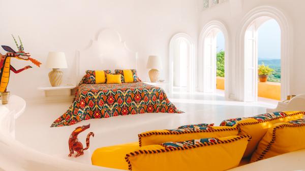 Dragon Suite at Cuixmala Mexico