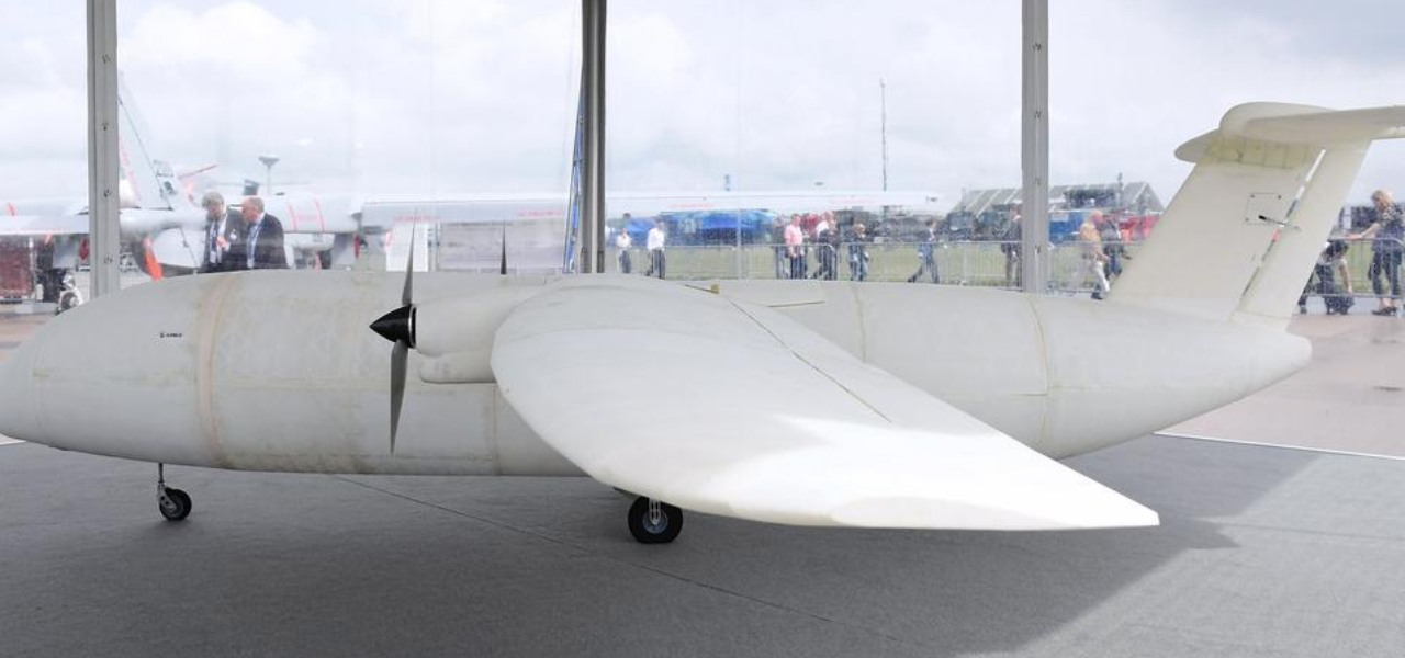 Airbus's Test of High-tech Objectives in Reality (THOR) at the Berlin Airshow in 2016