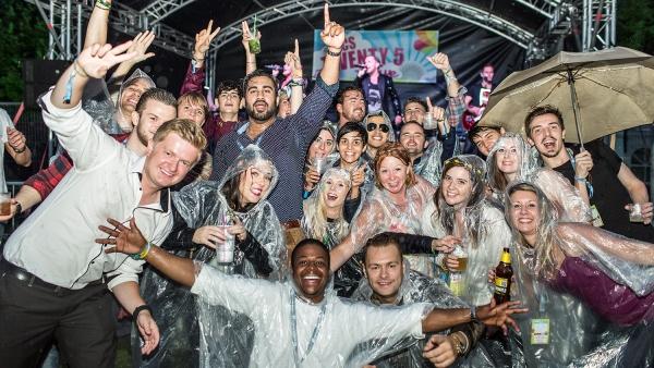 ACS party come rain or shine
