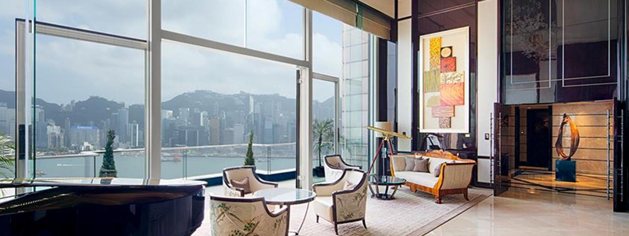 The Peninsula Suite at the Peninsula Hotel, Hong Kong