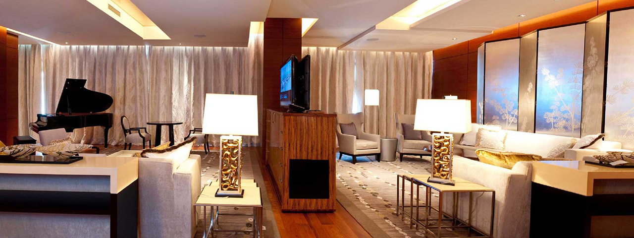 The Chairman Suite at the Marina Bay Sands Hotel, Singapore