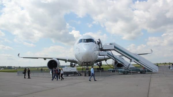 2017 MAKS Air Show: Airbus A350