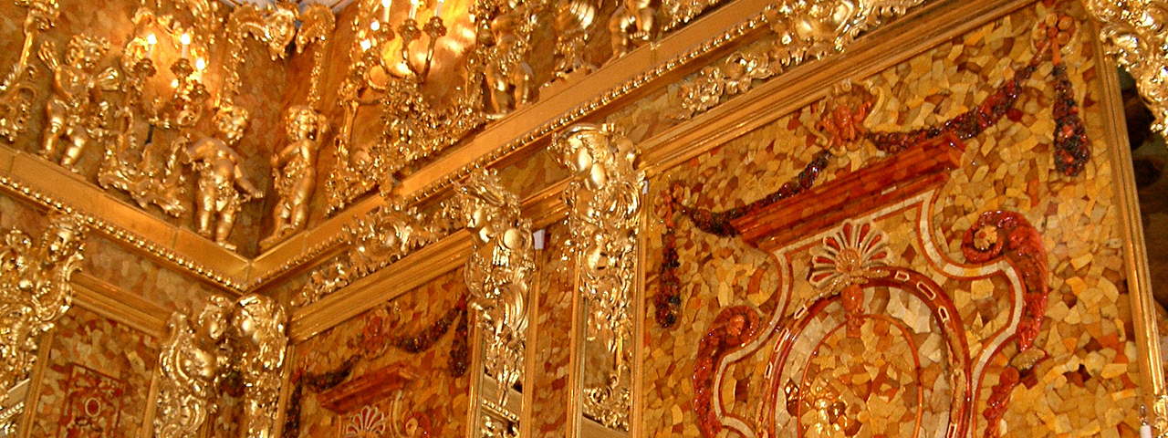"The Amber Room - The Lost ""Eighth Wonder of the World"""