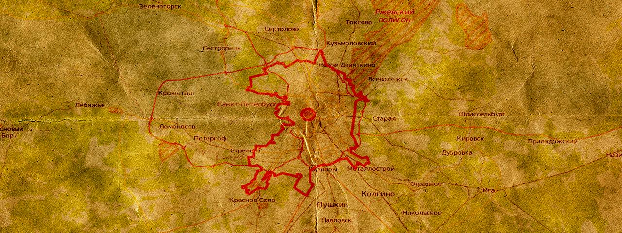 Carte de la Chambre d'ambre : la « huitième merveille du monde » disparue