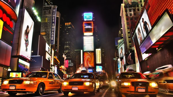 Times Square, New York at night