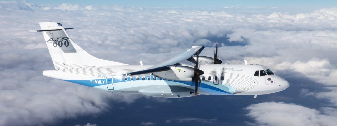 ATR 42 aircraft