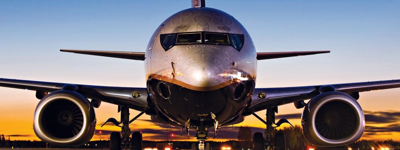 Boeing 737-500 VIP aircraft