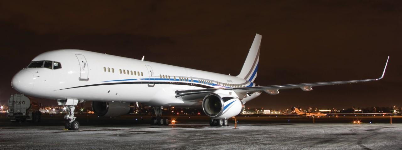 Boeing 757-200 VIP aircraft