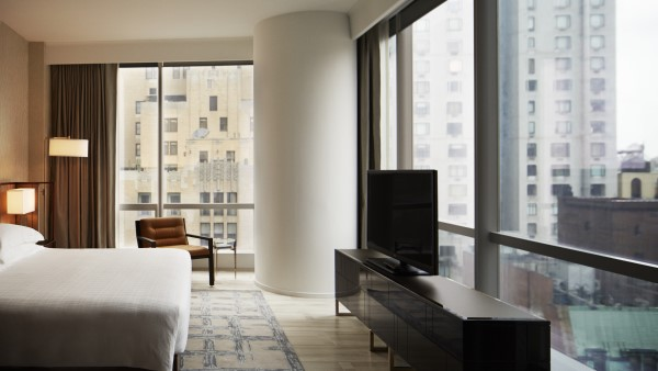 One Bedroom City View Suite at the Hyatt Hotel, New York