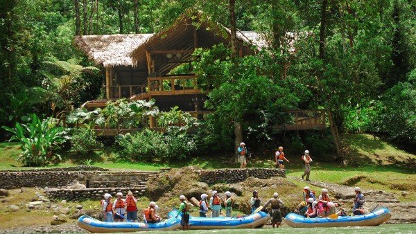 Rafting at the Pacuare Lodge, Costa Rica