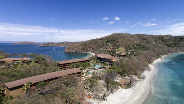 Aerial view of the Four Seasons, Costa Rica