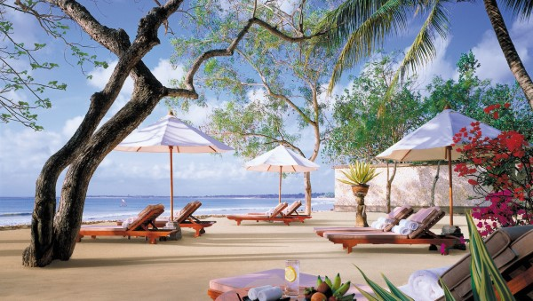 Coconut Grove Beach at the Four Seasons Resort Bali