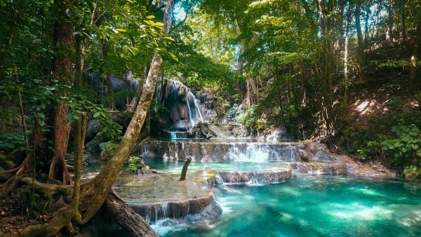 Mata Jitu Waterfall, Moyo Island
