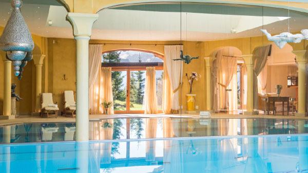 Bella Coola indoor pool