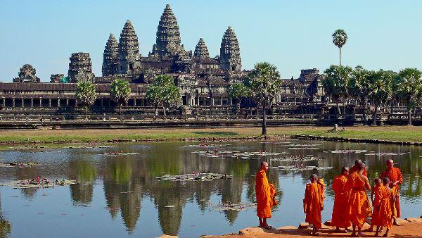 Cambodia's legendary temple, Angkor Wat