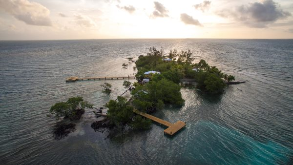 Coral Caye, Turtle Inn, Belize