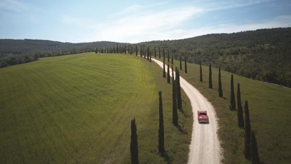 Tuscan driving tour at the Castello di Casole
