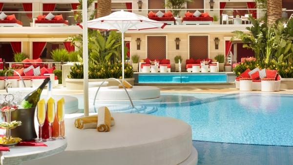 Encore Pool Cabana at the Wynn, Las Vegas