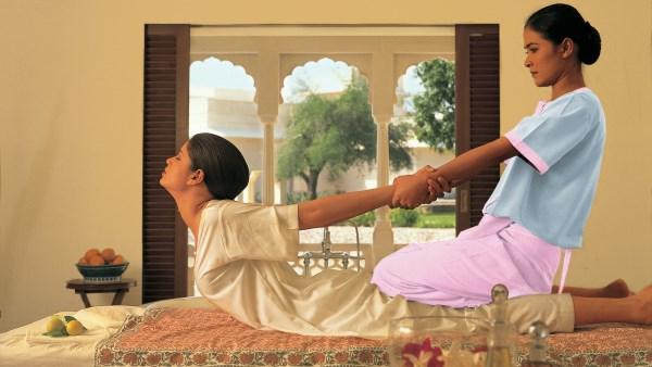 Spa at the Oberoi Vanyavilas Rajasthan, India