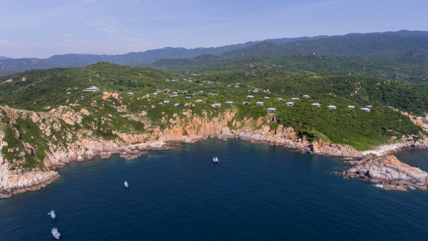 Vinh Hy Bay, Vietnam