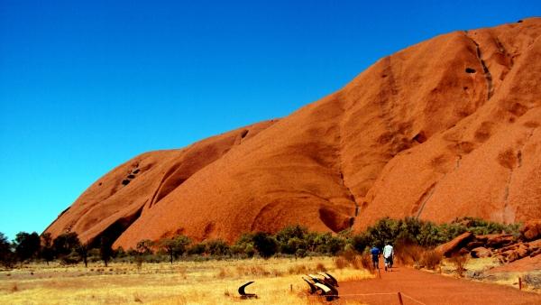 Foot of Uluru-Kata Tjuta National Park Hike