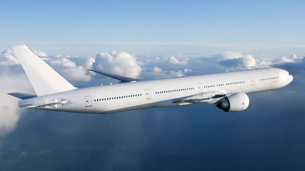 The Boeing 777: commonly refered to as the 'Triple Seven'